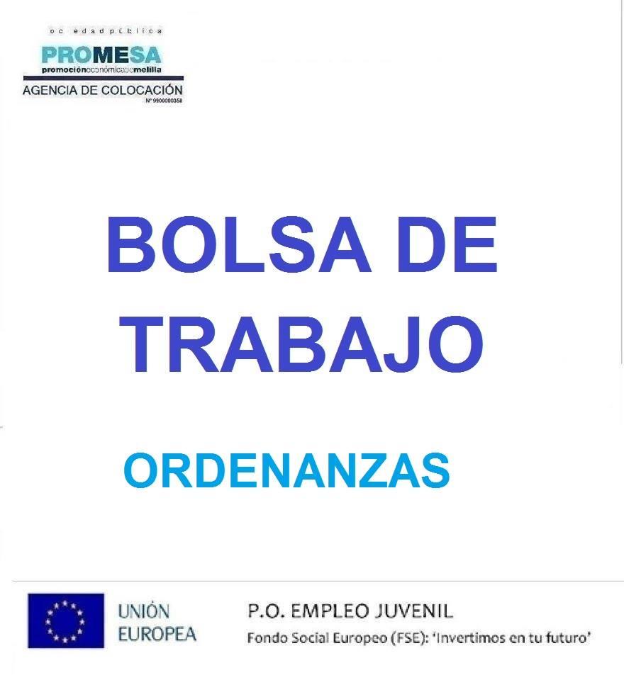 PUBLICADA LA LISTA PROVISIONAL DE BAREMACIONES DE LA BOLSA DE TRABAJO DE ORDENANZAS