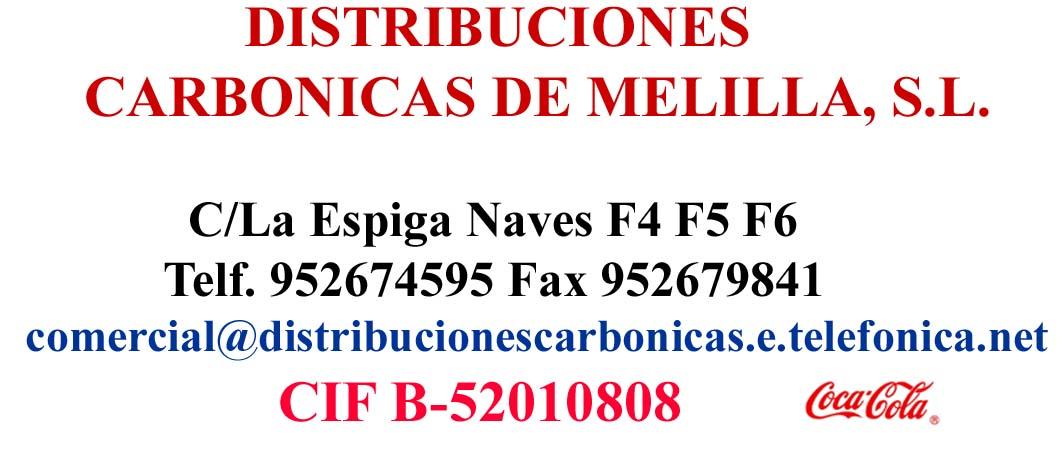 Distribuciones Carbónicas Melilla, S.L.